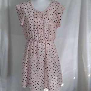 Sweet Rain Pink Cat Dress